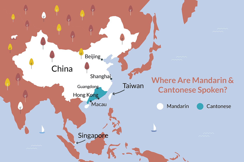 Mandarin vs Cantonese